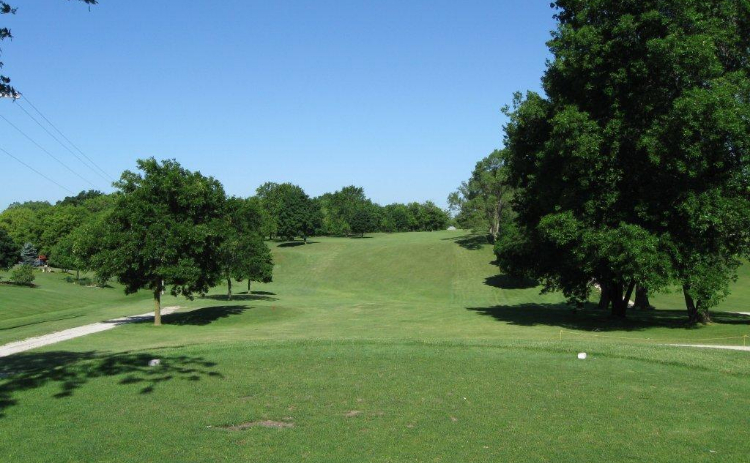 View of fairway